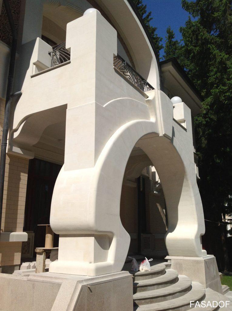 дагестанский камень для фасада дома облицовка