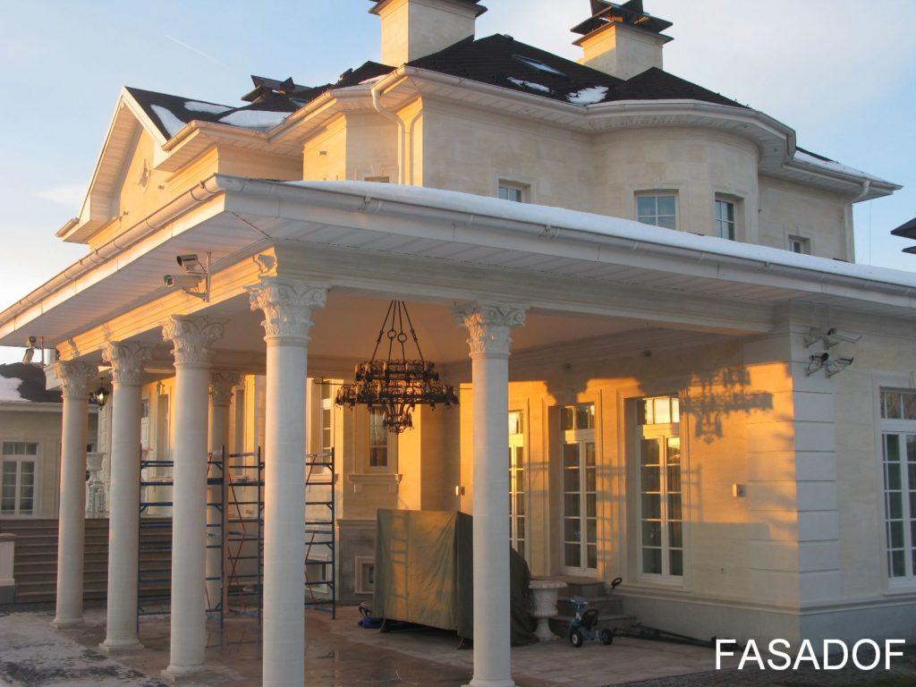 внешняя отделка фасадов дома